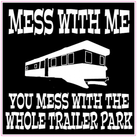 Trailer Park Sticker | U.S. Custom Stickers