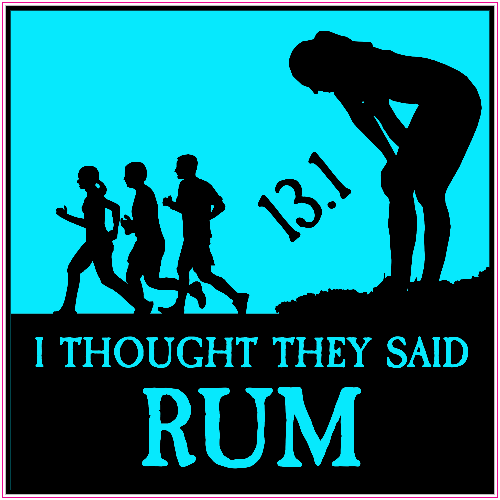 I Thought They Said Rum Sticker | U.S. Custom Stickers