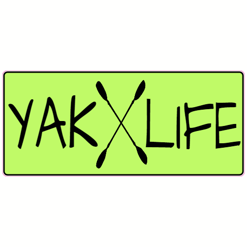 Kayak Yak Life Sticker | U.S. Custom Stickers