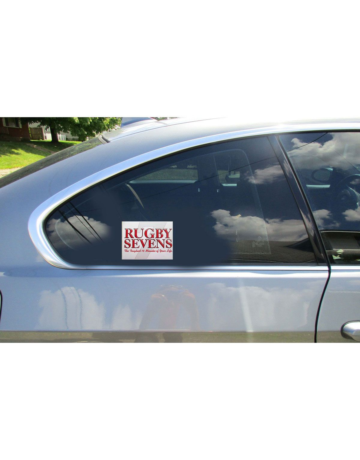 Rugby Sevens The Toughest 14 Minutes Of Your Life Car Sticker