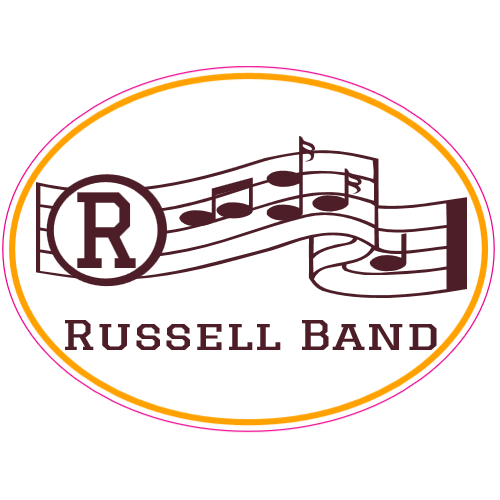 Russell Band Notes Sticker | U.S. Custom Stickers