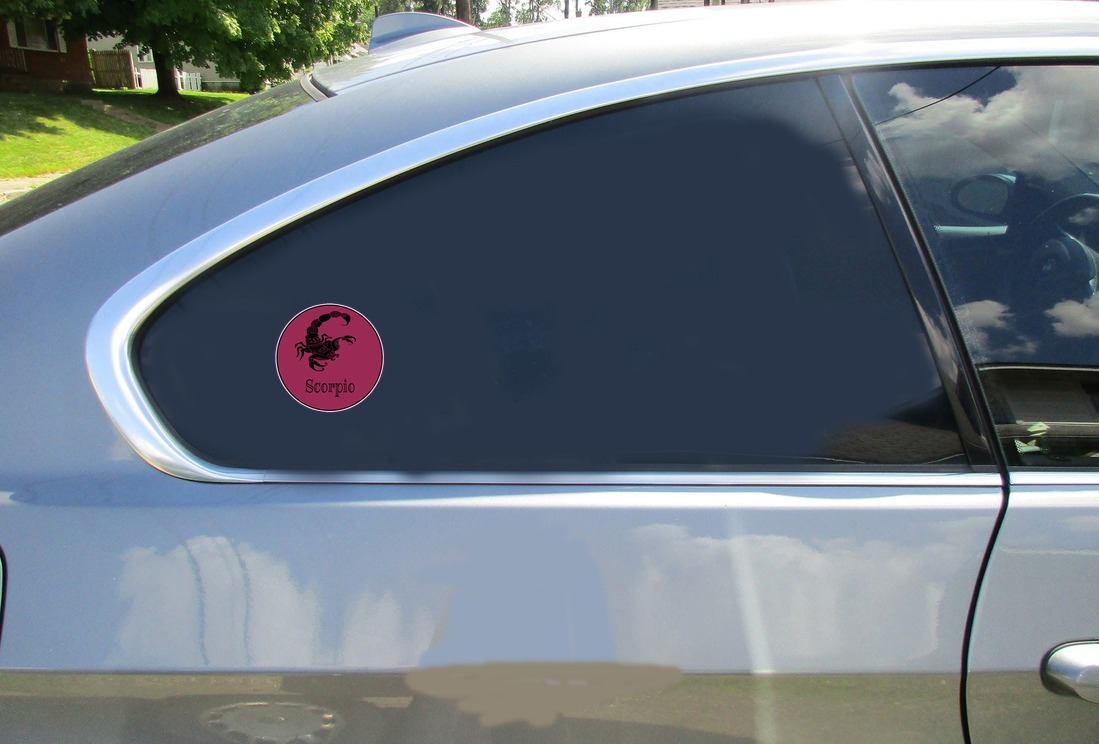 Scorpio Scorpion Sticker Car Sticker