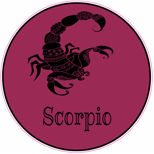 Scorpio Scorpion Sticker | U.S. Custom Stickers