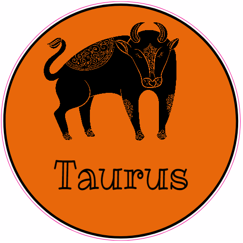 Taurus Bull Sticker | U.S. Custom Stickers