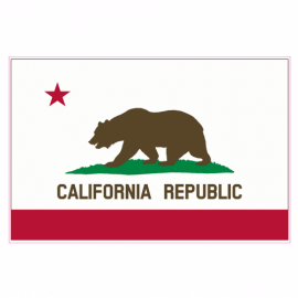 California Flag Sticker | U.S. Custom Stickers