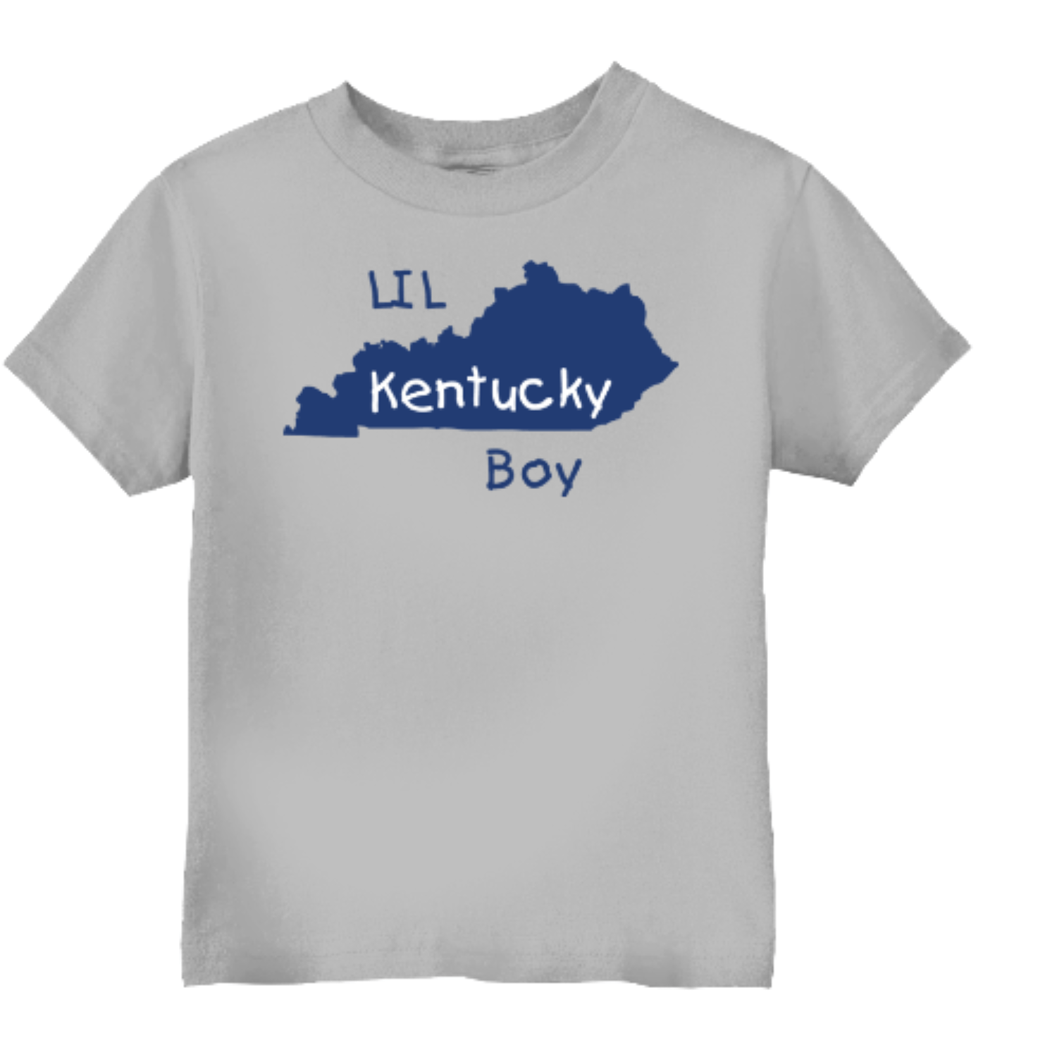 Lil Kentucky Boy Toddler T Shirt Gray Rabbit Skins Toddler T Shirt