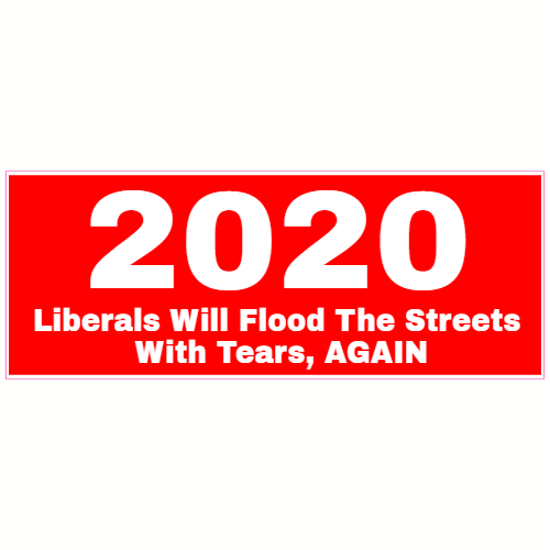 2020 Liberal Tears Republican Sticker | U.S. Custom Stickers