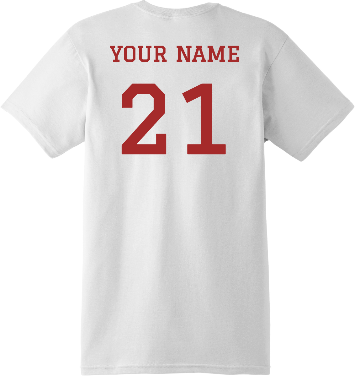 Baseball Dad With Name And Number