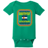 Denver Colorado Flag Retro Baby Bodysuit Kelly Rabbit Skins Infant Short Sleeve Infant Rib Bodysuit RS4400