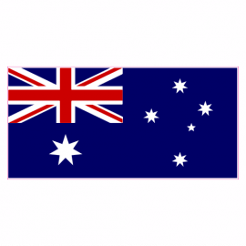 Australia Flag Sticker | U.S. Custom Stickers