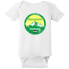 Breckenridge Colorado Mountain Flag Baby Creeper White Rabbit Skins Infant Short Sleeve Infant Rib Bodysuit RS4400