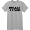 Bullet Proof T Shirt Light Steel Hanes Nano 4980 Ringspun Cotton T Shirt