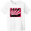 Chicago Skyline Retro Toddler T-Shirt White Rabbit Skins Toddler Fine Jersey Tee RS3321