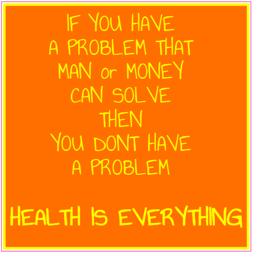Health Is Everything Square Sticker | U.S. Custom Stickers