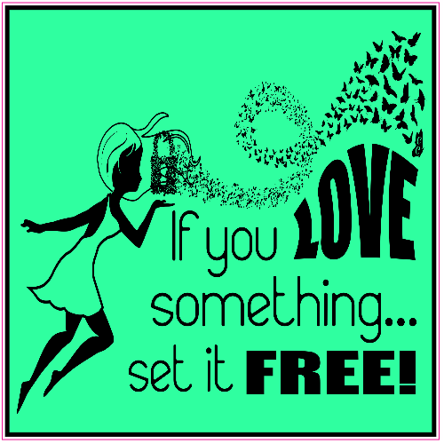 If You Love Something Set It Free Sticker | U.S. Custom Stickers