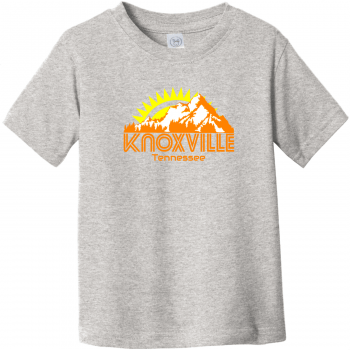 Knoxville Tennessee Mountains Toddler T Shirt Heather Rabbit Skins Toddler Fine Jersey Tee RS3321