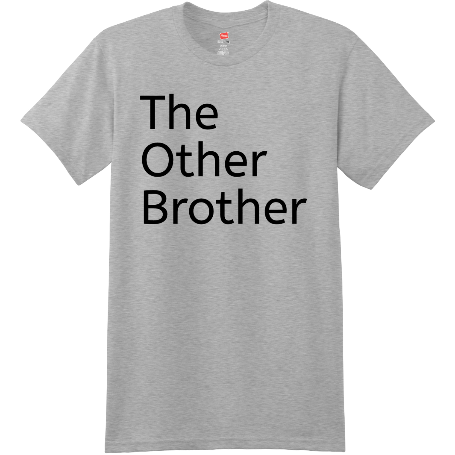 The Other Brother T Shirt Light Steel Hanes Nano 4980 Ringspun Cotton T Shirt