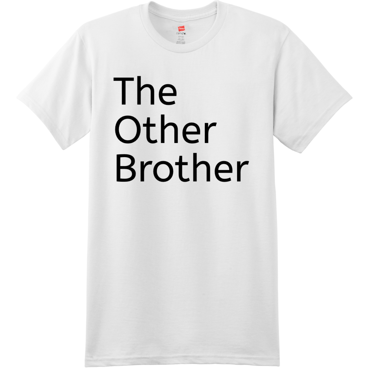 The Other Brother T Shirt White Hanes Nano 4980 Ringspun Cotton T Shirt