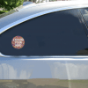 Expand Your Mind Trippy Circle Sticker Car Sticker