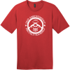 2nd Amendment Protect Yourself T-Shirt Classic Red District Perfect Weight Tee DT104