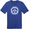 2nd Amendment Protect Yourself T-Shirt Deep Royal District Perfect Weight Tee DT104