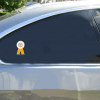 3rd Place Ribbon Sticker Car Sticker