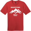 Brasstown Bald Georgia T Shirt Classic Red District Perfect Weight Tee DT104