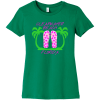Clearwater Beach Florida T-Shirt Kelly Bella Canvas 6004 Ladies The Favorite Tee