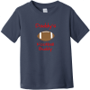 Daddy's Football Buddy Toddler T-Shirt Navy Rabbit Skins Toddler Fine Jersey Tee RS3321