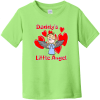Daddy's Little Angel Toddler T-Shirt Key Lime Rabbit Skins Toddler Fine Jersey Tee RS3321