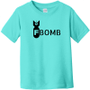 F Bomb Toddler T-Shirt Caribbean Rabbit Skins Toddler Fine Jersey Tee RS3321