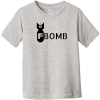 F Bomb Toddler T-Shirt Heather Rabbit Skins Toddler Fine Jersey Tee RS3321