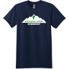 Killington Peak Vermont T-Shirt Navy Hanes Nano 4980 Ringspun Cotton T Shirt