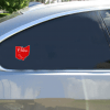 Ohio Home Sweet Home State Shaped Sticker Car Sticker