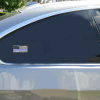 Police Blue Line Distressed Black Flag Sticker Car Sticker