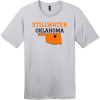 Stillwater Oklahoma T-Shirt Silver District Perfect Weight Tee DT104