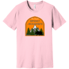 The Great Smoky Mountains T-Shirt Pink Bella Canvas Unisex Tee BC3001