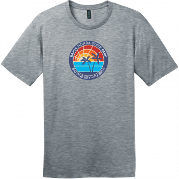 Bahia Honda State Park T-Shirt Heathered Steel District Perfect Weight Tee DT104