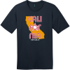 California Republic State T-Shirt New Navy District Perfect Weight Tee DT104