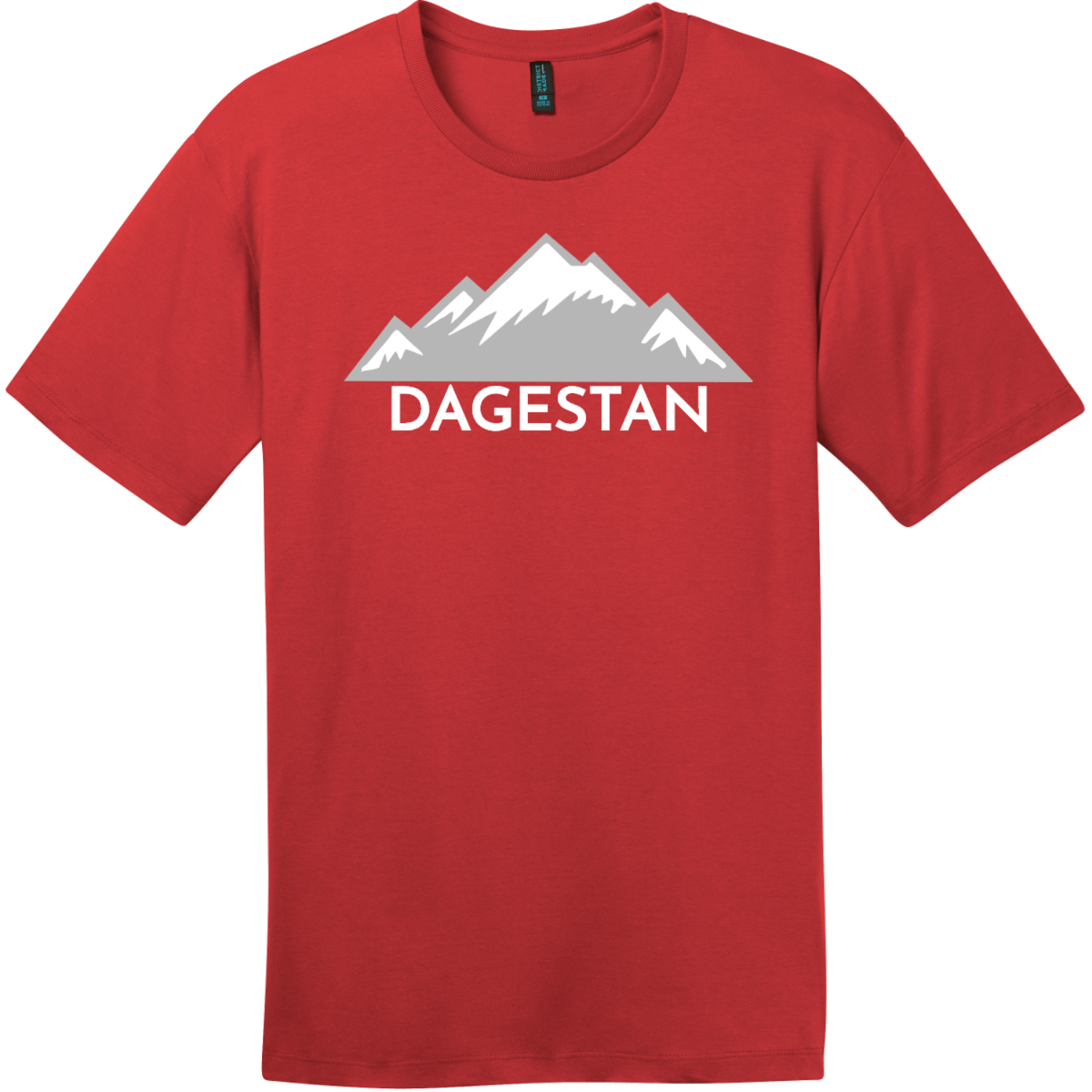 Dagestan Mountain T-Shirt Classic Red District Perfect Weight Tee DT104