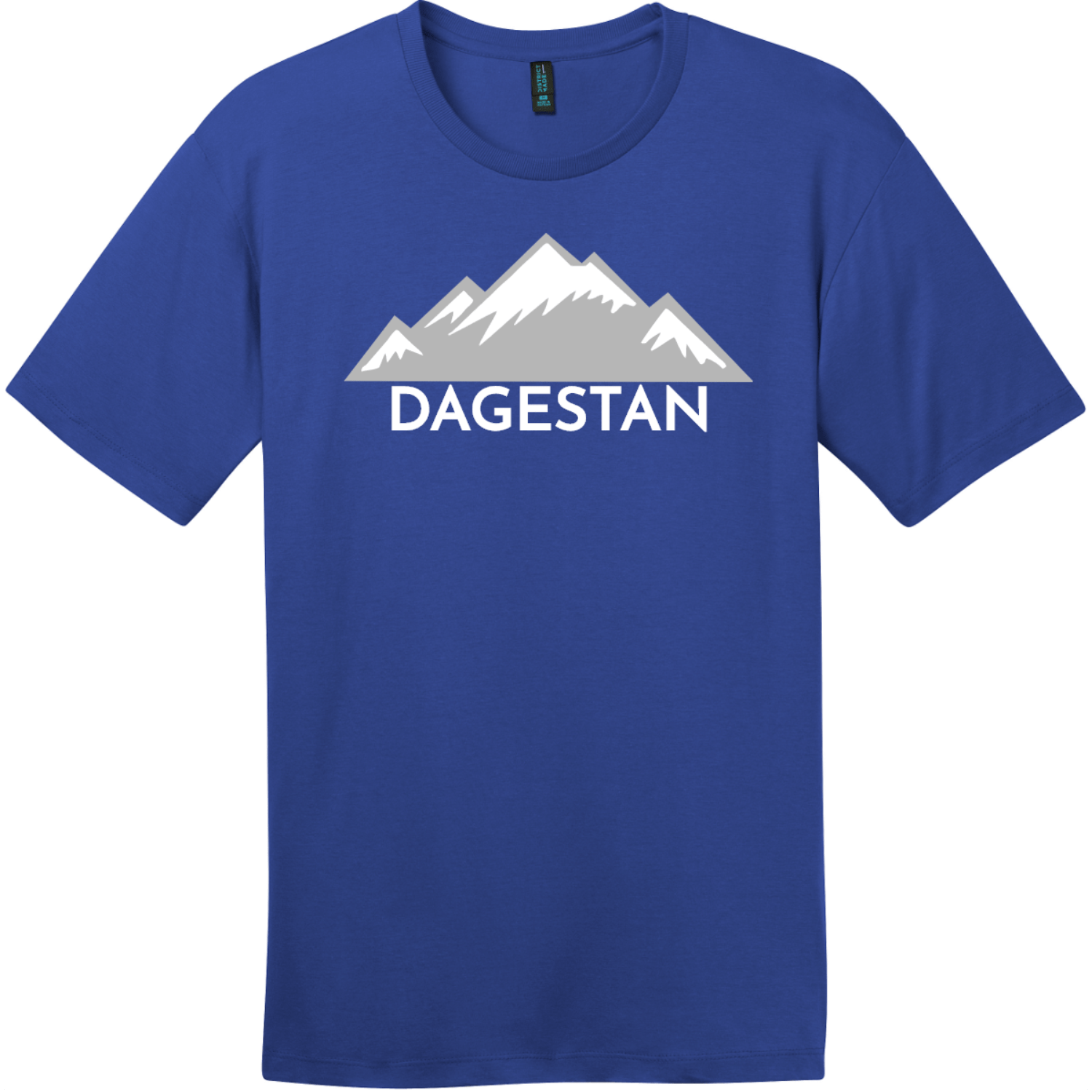 Dagestan Mountain T-Shirt Deep Royal District Perfect Weight Tee DT104