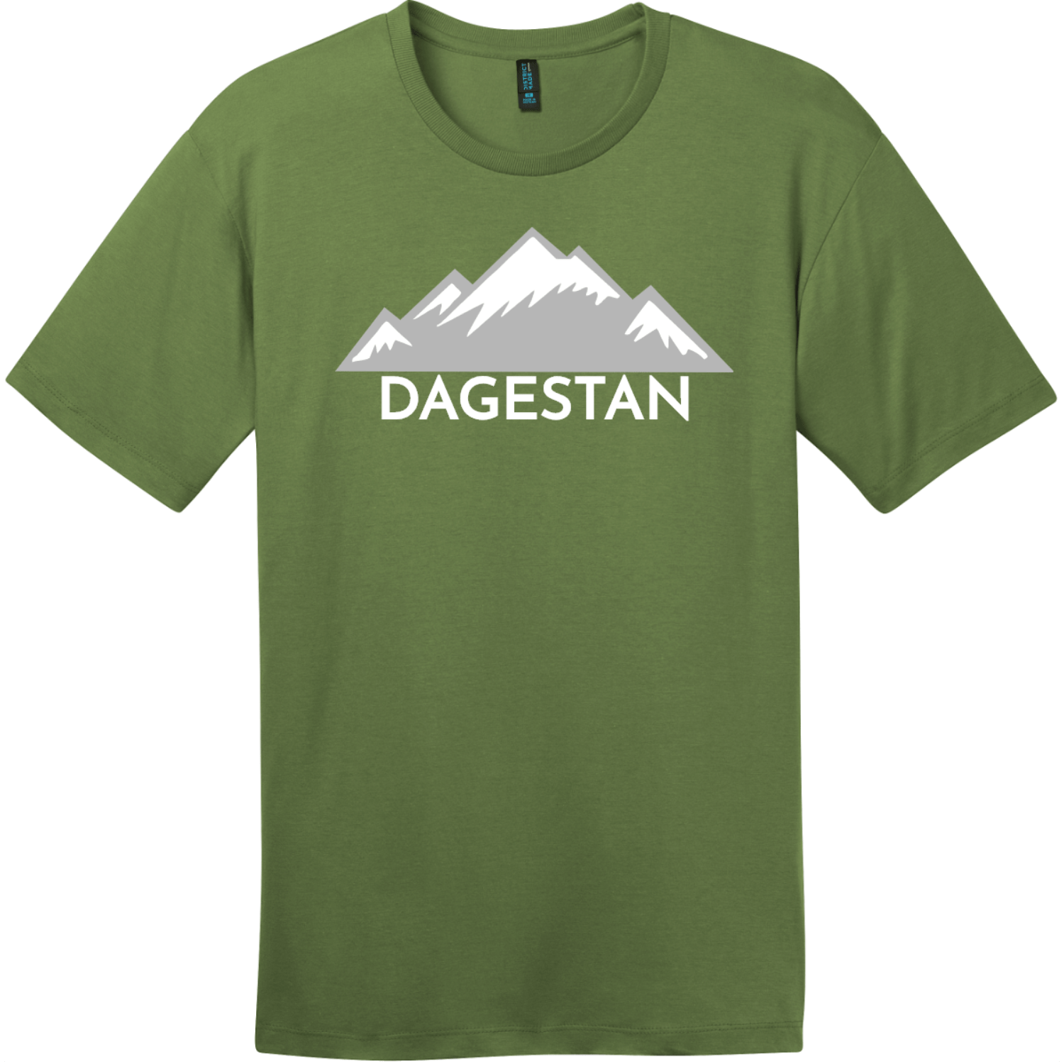 Dagestan Mountain T-Shirt Fresh Fatigue District Perfect Weight Tee DT104