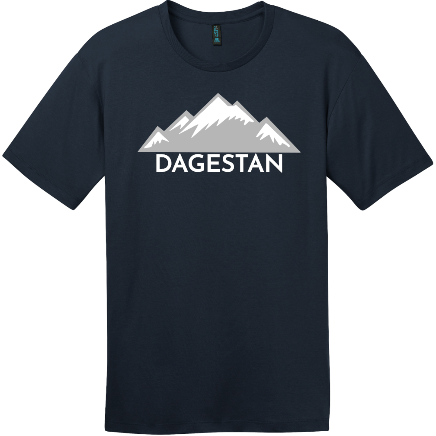 Dagestan Mountain T-Shirt New Navy District Perfect Weight Tee DT104