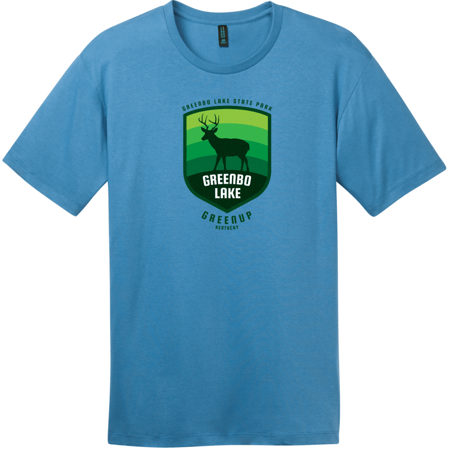 Greenbo Lake State Park T Shirt Clean Denim District Perfect Weight Tee DT104
