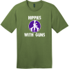 Hippies With Guns T-Shirt Fresh Fatigue District Perfect Weight Tee DT104