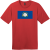 Kentucky State Flag Vintage T-Shirt Classic Red District Perfect Weight Tee DT104