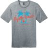 Myrtle Beach The Grand Strand T-Shirt Heathered Steel District Perfect Weight Tee DT104