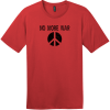 No More War T-Shirt Classic Red District Perfect Weight Tee DT104