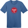 San Diego America's Finest City Sunshine T-Shirt Maritime Blue District Perfect Weight Tee DT104