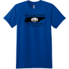 Tennessee Best Whiskey In The World T-Shirt Deep Royal Hanes Nano 4980 Ringspun Cotton T Shirt